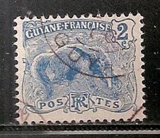 GUYANE      OBLITERE - Guyane Française (1886-1949)