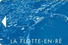 CARTE STATIONNEMENT BANDE MAGNÉTIQUE VILLE DE LA FLOTTE EN RÉ 17 CHARENTE-MARITIME - Francia