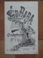 LE BABA ENCHANTÉ - Ouverture Par Melle H. WILD - La Poupée Modèle, Rue Vivienne à Paris - Journal Des Petites Filles - Musique & Instruments