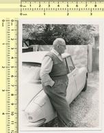 REAL PHOTO Citroën DS Citroen Car & Man Automobile, Voiture Et Homme ORIG. VINTAGE SNAPSHOT PHOTOGRAPH - Automobili