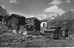 PLATTEN → Chalets In Platten Bei Zermatt Anno 1957 - VS Valais