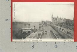 CARTOLINA NV BELGIO - ANVERS Du XX° Siecle - La Promenade Et Steen - 9 X 14 - Antwerpen