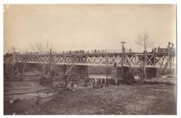 RO 56 - 16093 FOCSANI, Bridge, Romania - Old Postcard, Real PHOTO - Used - 1917 - Romania