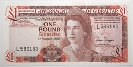 Gibraltar - 1 Pound - 1988 - PICK 20e - NEUF - Gibraltar