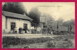 CPA Saint-Soupplets - La Gare - Otros Municipios