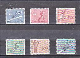YOUGOSLAVIE 1976 JEUX OLYMPIQUES Yvert 1519-1520 + 1548-1551 NEUF** MNH - 1945-1992 République Fédérative Populaire De Yougoslavie