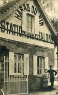 A VOIR ! CARTE PHOTO HARAS DU PIN STATION DES ETALONS THEMES ORNE MILITARIA ANIMAUX CHEVAL - France