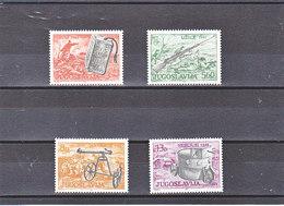 YOUGOSLAVIE 1981 ARMES  Yvert 1759-1762 NEUF** MNH - Neufs