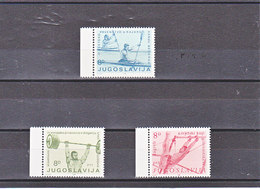 YOUGOSLAVIE 1982 SPORTS Yvert 1819-1821 NEUF** MNH - Neufs
