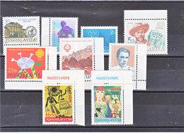YOUGOSLAVIE 1983 Yvert 1885-1890 +  1902-1904 NEUF** MNH - Neufs