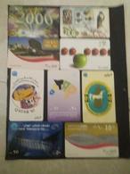 Qatar Telephone Card Lot 9 Different - Qatar