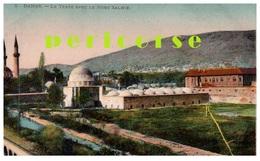 Damas  Le Tekyé Avec Le Mont Salhié - Syrie