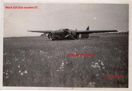 Photo Originale  Armée De L'air France Occupation  Avion Bloch 210 Années 1930 Tours Parçay Meslay - 1939-45