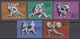 Russia, USSR 21.06.1977 Mi # 4602-06 Moscow Summer Olympics (II) MNH OG - Nuevos