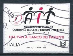 °°° ITALIA 2019 - ASSOCIAZIONE ITALIANA ONLUS °°° - 6. 1946-.. Republic