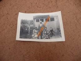 PHOTOGRAPHIE ORIGINALE COLLECTION ALBUM 1954 à Auxerre  - Coupe Vélo Moteur Solex - Places