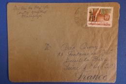 B55 VIETNAM LETTRE 1962 POUR DEUIL LA BARRE  FRANCE - Viêt-Nam