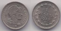 GOBIERNO DE EUSKADI - 1 PESETA DEL AÑO 1937 - [ 2] 1931-1939 : République