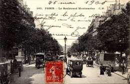 75] Paris >   VOITURE  ATTELAGE   / LOT 4004 - France