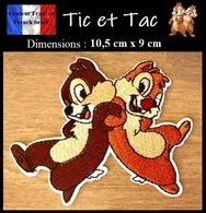 Écusson Brodé Thermocollant NEUF ( Patch Embroidered ) - Tic Et Tac Chip And Dale - Ecussons Tissu