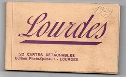 Carnet De 20 Cartes Postales Anciennes - Dép. 65 - LOURDES - Lourdes