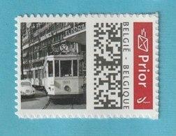 """MYSTAMP BELGIUM ** MNH - ZIE SCAN - SUPER SALE - TRA56 - TRAM 25 Brussel + VW Kever ...  """"NEW""""  ... - Personalisierte Briefmarken"""