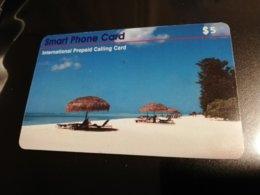 GUAM/ SAIPAN  PHONECARD $5 Fine Used  ** 367 ** - Guam