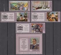 Russia, USSR03.03.1978Mi # 4698-99, 4700-02 Zf Bl 126; B. Kustodiev's Centenary MNH OG - Nuovi