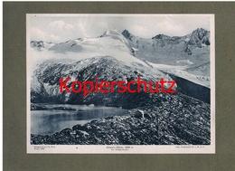016 Zittauer Hütte Alpenvereinshütte Alpenverein Berghütte Kunstblatt Lichtdruck 1908 !! - Ohne Zuordnung