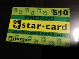 GUAM/ SAIPAN  PHONECARD $10,-fine Used  ** 360 ** - Guam