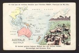MAP - Australie Australia, Sheep - Cartes Géographiques
