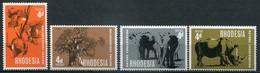 Rhodesien Mi# 66-9 Postfrisch MNH - Flora Fauna - Rhodésie (1964-1980)