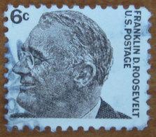 1967 USA Stati Uniti Franklin Delano Roosevelt  President - 6 C  Usato - Stati Uniti