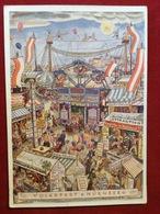 AK Nürnberg Volksfest 1935 Coloriert Volksfest Postkarte - Nuernberg