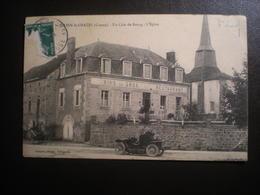 St Julien Le Chatel Un Coin Du Bourg - France