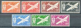 Colonies Françaises - (Afrique Equatoriale Française) - 1941 - PA - N° 22 à 28 - (Série De Londres) - Nuovi