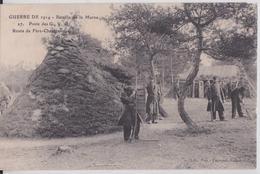 Route De Fère-Champenoise Guerre 1914 Bataille De La Marne Poste Des GVC Gardes Voies Télégraphe Télégraphie Militaire - France
