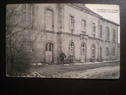 Poussanges Mairie Et Ecoles - Francia