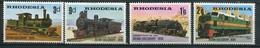 Rhodesien Mi# 80-3 Postfrisch MNH - Trains, Railway - Rhodésie (1964-1980)