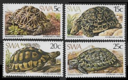 1982South West Africa(SWA)516-519Reptiles - Tortues