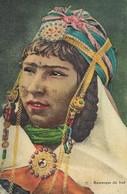 CARTE POSTALE ORIGINALE ANCIENNE : JEUNE FEMME ARABE MAURESQUE DU SUD ALGERIEN - Femmes