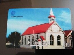 FALKLAND ISLANDS   10 Pound St Marys Church  Serie 289CFKA New  Logo C&W **154** - Islas Malvinas