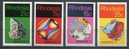Rhodesien Mi# 114-7 Postfrisch MNH - Stones - Rhodésie (1964-1980)
