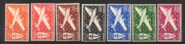 Colonies Françaises & Protectorats - (CAMEROUN) - 1942 - PA - N° 12 à 18 - (Série De LONDRES) - Camerun (1915-1959)