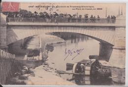 Besançon - Accident De Tramway Electrique Au Pont De Canot En 1899 - Besancon