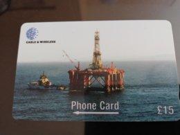 FALKLAND ISLANDS   10 Pound  OIL PLATFORM   Serie 269CFKA New  Logo C&W **157** - Islas Malvinas