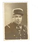 Carte Photo - Soldat En Uniforme - Croix De Lorraine - Képi - 1945 - Photo Jerome - Documents
