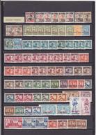 UN LOT DE 103 TIMBRES NEUFS**, NEUFS*, NSG, OBLITéRéS DONT MULTIPLES - Kouang-Tcheou (1906-1945)
