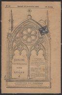 Journal « Semaine Catholique De LUCON » Avec 1c Type SAGE Oblt Typographique + CàD Type A2 De LUCON - Marcofilie (Brieven)