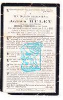 DP Arthur Hulet / Lebbe ° Watou 1864 † Poperinge 1906 - Devotion Images